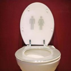 Woman super glued to toilet for an hour