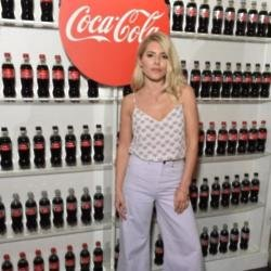 Mollie King at the Coca-Cola Summer Party