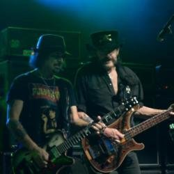 Phil Campbell and Lemmy Kilmister in 2015
