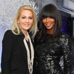 Naomi Campbell and Kathrin Glock