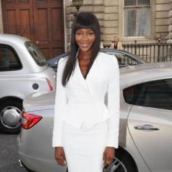 Naomi at the launch of 'The Face'