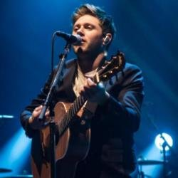 Niall Horan performing in Brixton