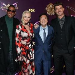 Nick Cannon,  Jenny McCarthy,Ken Jeong and Robin Thicke