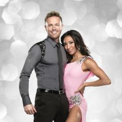 Nicky Byrne and his partner Karen Hauer