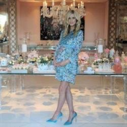 Nicky Hilton Rothschild at her baby shower (c) Instagram