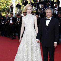 Nicole Kidman and Ang Lee in Cannes