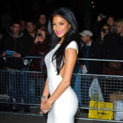 Nicole Scherzinger looked beautiful at the Cosmo awards last night