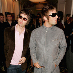 Oasis Liam Gallagher and Noel Gallagher - 2005 - Getty Images - Q Awards