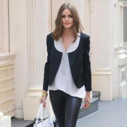 Olivia Palmero has New York style down to a tee