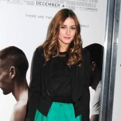 Olivia Palermo looks chic in black blazer