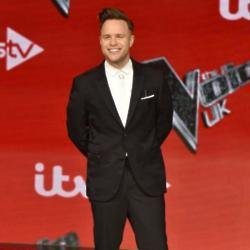 The Voice coach Olly Murs