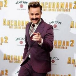 Olly Murs at Anchorman 2 premiere