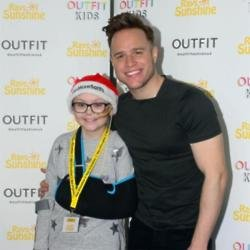 Olly Murs at the Rays of Sunshine event