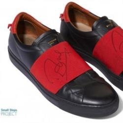 Olly Murs' shoes (c) Small Steps Project