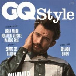 Orlando Bloom on cover of GQ Style
