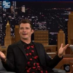 Orlando Bloom on The Tonight Show with Jimmy Fallon