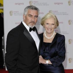 Paul Hollywood and Mary Berry at the BAFTA TV Awards