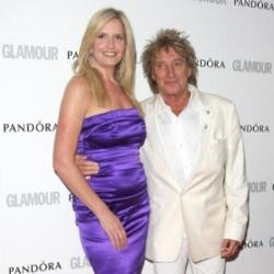 Lady Penny Lancaster Stewart and Sir Rod Stewart