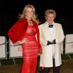 Sir Rod Stewart and Penny Lancaster