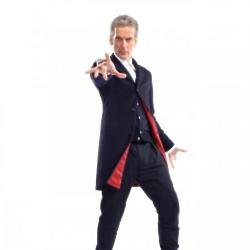 Peter Capaldi in new Doctor Who outfit