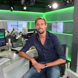 Peter Crouch is to guest host on Radio X