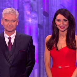 Dancing On Ice hosts Phillip Schofield and Christine Bleakley