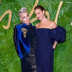 Pink and Stella McCartney at The 2017 Fashion Awards