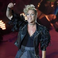 Pink gushes over famous former flame