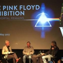 Pink Floyd's Nick Mason and Roger Waters in London
