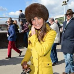 Pippa Middleton at the Cheltenham Festival