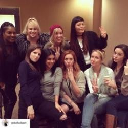 Pitch Perfect 3 stars [Instagram]