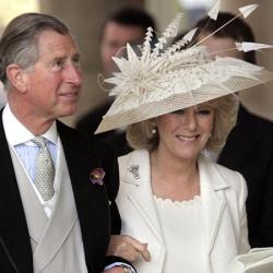 Camilla with Prince Charles