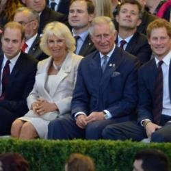 The Duchess of Cornwall with Prince Charles