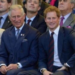 Prince Charles and Prince Harry