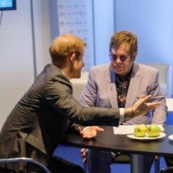 Prince Harry and Elton John (c) Kensington Palace Twitter