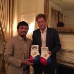 Prince Harry and Manny Pacquiao (c) Instagram