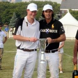 Prince Harry and Nacho Figueras