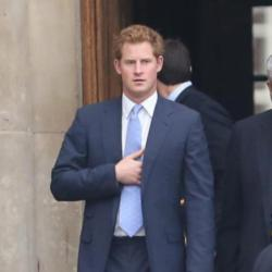 Prince Harry at the Chelsea Flower Show