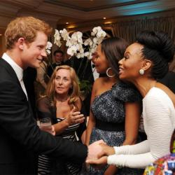 Prince Harry and Bonang Matheba