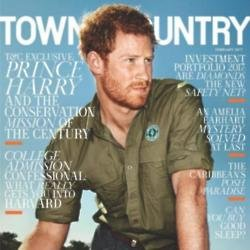 Prince Harry for Town and Country magazine