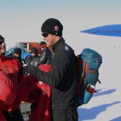 Prince Harry on his South Pole trek