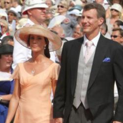 Princess Marie with Prince Joachim