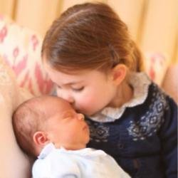 Prince Louis and Princess Charlotte (c) Duchess of Cambridge