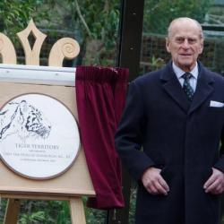 Prince Philip at London Zoo