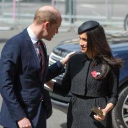 Meghan Markle with Prince William