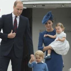 William, Catherine, George and Charlotte