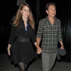 Princess Beatrice and Dave Clark in 2014