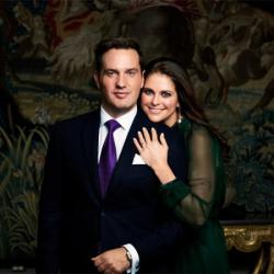 Christopher O'Neill and Princess Madeleine