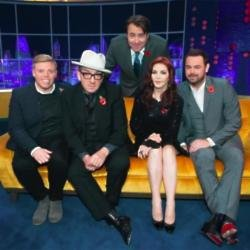 Jonathan Ross with guests on the ITV show