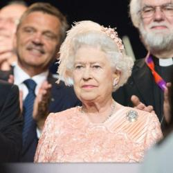 Queen Elizabeth at the Olympics